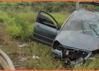 Mais um acidente na rodovia MG-434 Polo capota com seis pessoas dentro cinco delas foram socorridas para Itabira