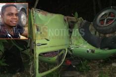 Grave acidente na MGC-120 deixa um morto e outro ferido em Santa Maria de Itabira