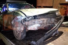 Condutor de Chevette foge depois de colidir com moto conduzida por inabilitado no bairro Bethânia em Itabira