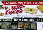 ÓTIMA SABOR CASEIRO LASANHA, MINI PIZZA, EMPADÃO...