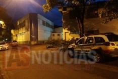 PM é acionada para verificar arrombamento em Supermercado no bairro Campestre nesta madrugada