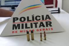 Policia Militar surpreende jovem que é preso com munições na Vila São Geraldo