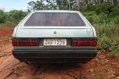 Localizado VW Gol cor azul furtado na área floresta da Lagoa do Pontal em Itabira