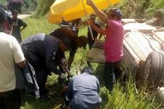 Padre fica ferido em acidente na rodovia MGC-120 em Santa Maria de Itabira