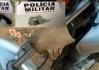 OPERAÇÃO CIDADE SEGURA- Policia militar apreende arma e droga na zona rural de Ferros