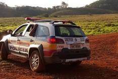 Caseiro é encontrado morto, vítima de arma de fogo, em São Gonçalo do Rio Abaixo
