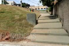 Espaço de convivência já esta quase pronto para ser entregue a comunidade do bairro Machado