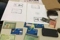 PM de Nova Era prende estelionatário que aplicava golpes em bancos da região