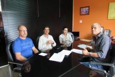 Representantes do Metabase e Bemisa se reúnem para assinar PPLR
