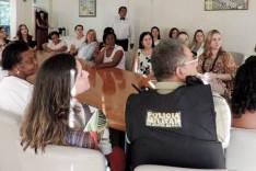 Dalma recebe mulheres para fortalecer rede de serviços voluntários