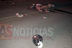 Colisão frontal entre motocicletas deixa dois mortos na rodovia LMG-779 no Vista Alegre em Itabira