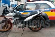 Tirocínio Militar recupera e tira mais uma motocicleta produto de crime de circulação em Itabira