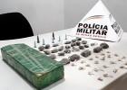 PM da novamente um grande prejuízo no trafico de drogas no bairro Eldorado