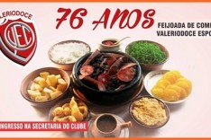"FEIJOADA ""76 ANOS VALERIODOCE ESPORTE CLUBE"""