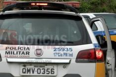 Veículo roubado no Vale do Aço é recuperado pela PM, em João Monlevade