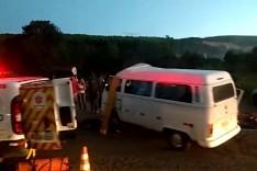 Acidente em São Gonçalo deixa um morto e sete feridos