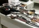 Comissários da infância e PM localizam centenas de ferramentas de procedência duvidosa em casa de adolescente no bairro Pedreira