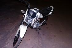 Denuncia ajuda dono de agencia a localizar e recuperar moto furtada estacionada no bairro Jardim das Oliveira