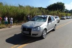 Adolescente fica gravemente ferido ao ser atropelado no final do bairro Praia