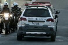 Bandidos armados desistem de roubar motocicleta porque conheciam a vitima no bairro Campestre
