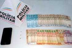 PM prende homem suspeito de trafico ilícito de drogas na MGC-120 em Itabira