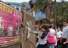 Vereadores e estudantes visitam pontos de poluição visual na cidade