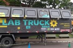 Lab Truck Tour começa oficinas em Itabira