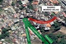 Utilidade pública: Rua Alfredo Sampaio, no Moinho Velho, terá mão única
