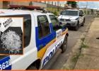PM apreende adolescente com maconha e pinos vazios de cocaína no bairro Santa Marta