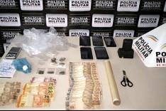 Polícia Militar apreende drogas no Bairro Laranjeiras