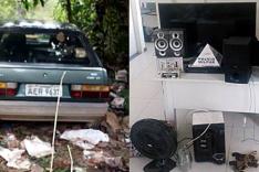 PM recupera VW Gol tomado de assalto em Sítios na região dos Gatos