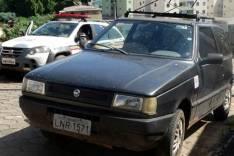 Proprietário de Fiat furtado encontra veiculo no Jardim das Oliveiras e aciona a PM