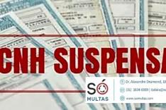 SÓ MULTAS: Toda multa gravíssima gera suspensão da CNH?