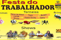 FESTA DO TRABALHADOR 1° DE MAIO NO METABASE
