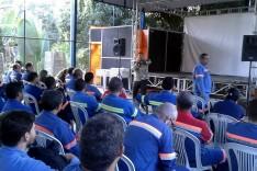 Com André Viana à frente, Sindicato Metabase realiza assembleia em Conceição do Mato Dentro
