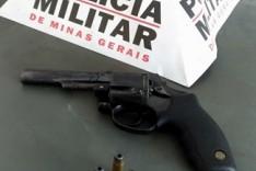 Policia Militar apreende revolver com adolescente no Distrito de Ipoema em Itabira