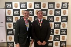 Policia Civil: Medalha Distinção Policial em Solenidade Servidores em Itabira são agraciados