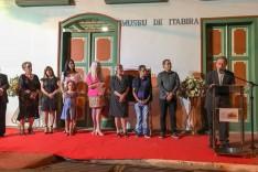 Memória recuperada – Ronaldo Magalhães oficializa reabertura do Museu de Itabira