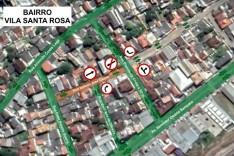 Utilidade pública Alteração na circulação de veículos em ruas do bairro Major Lage de Baixo
