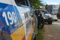 Promotora de vendas tem moto roubada por bandidos armados na MG-129 sentido Santa Maria de Itabira