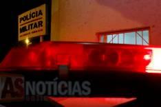 Homem tem portão de garagem atingido por disparos de arma de fogo no Alto Boa Vista em Itabira