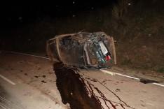 Um estudante morreu e outro ficou ferido em um grave acidente na MG-434 em Bom Jesus do Amparo
